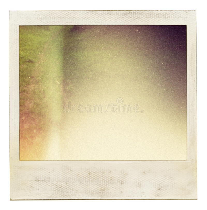 Photo background. Instant photo background with abstract filling stock photo