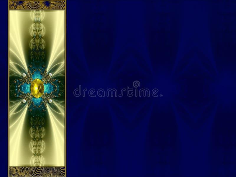 Photo Background fractal layout design royalty free illustration