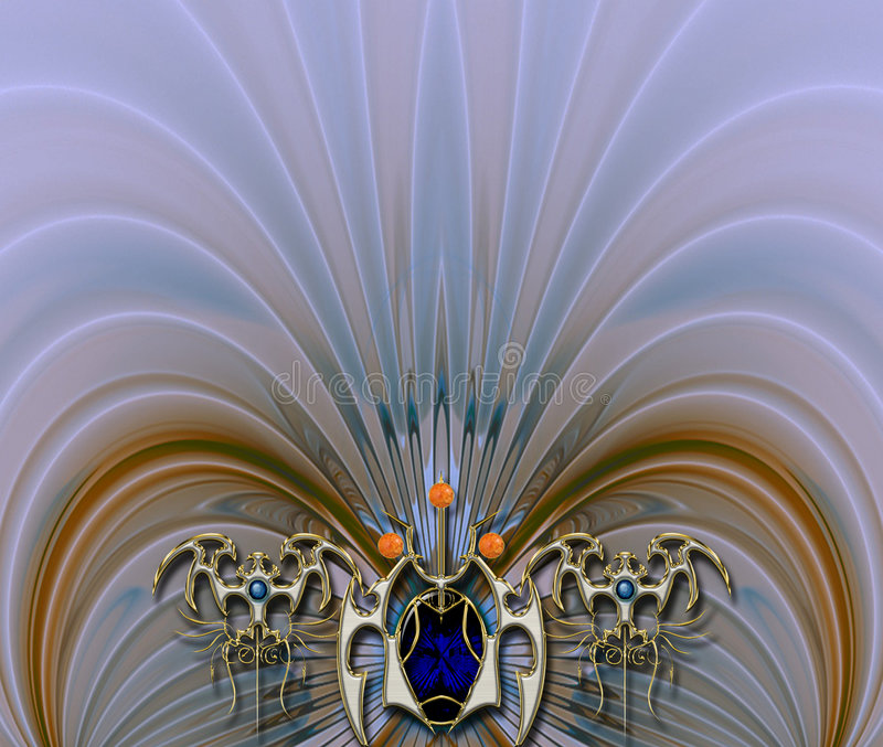 Photo Background layout design royalty free illustration