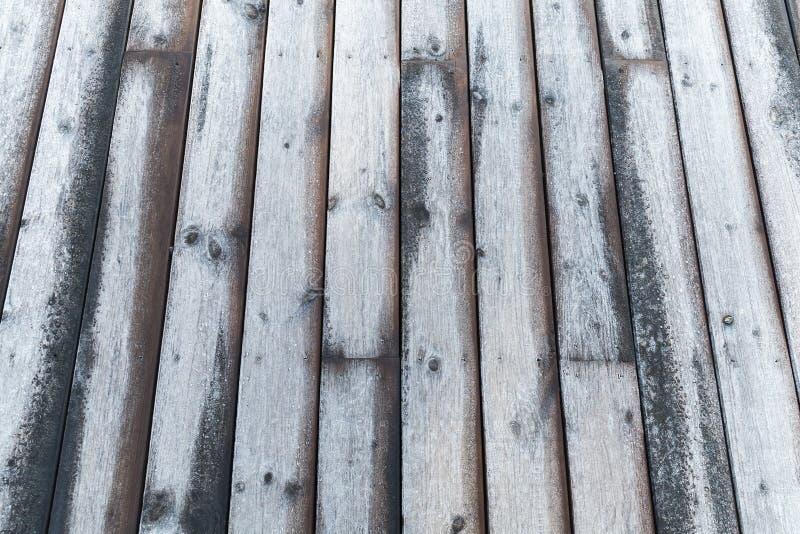 Photo background of wooden pier floor stock photography
