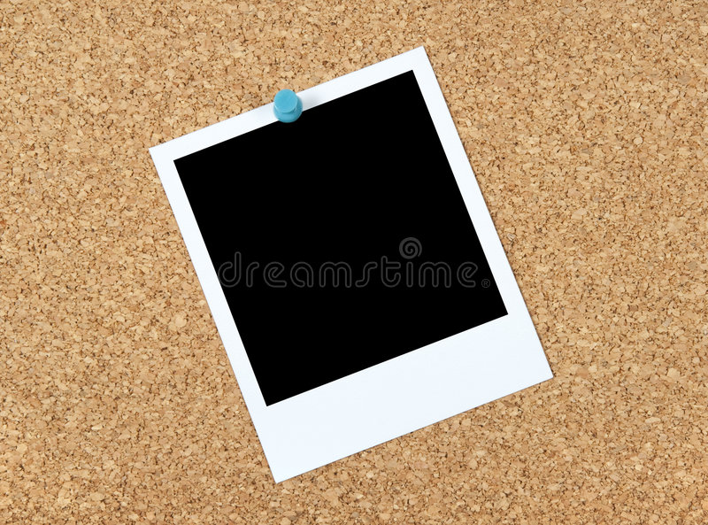 photo blanc de corkboard images libres de droits