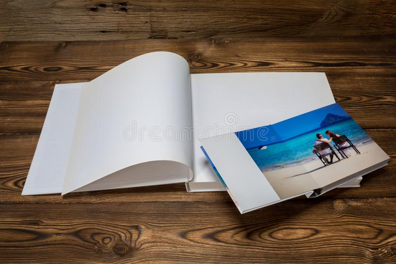 Photo blank brochure cover royalty free stock photos