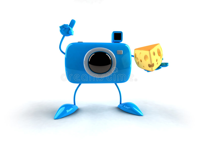 Download Photo boy says cheese stock illustration. Image of camera - 2314802