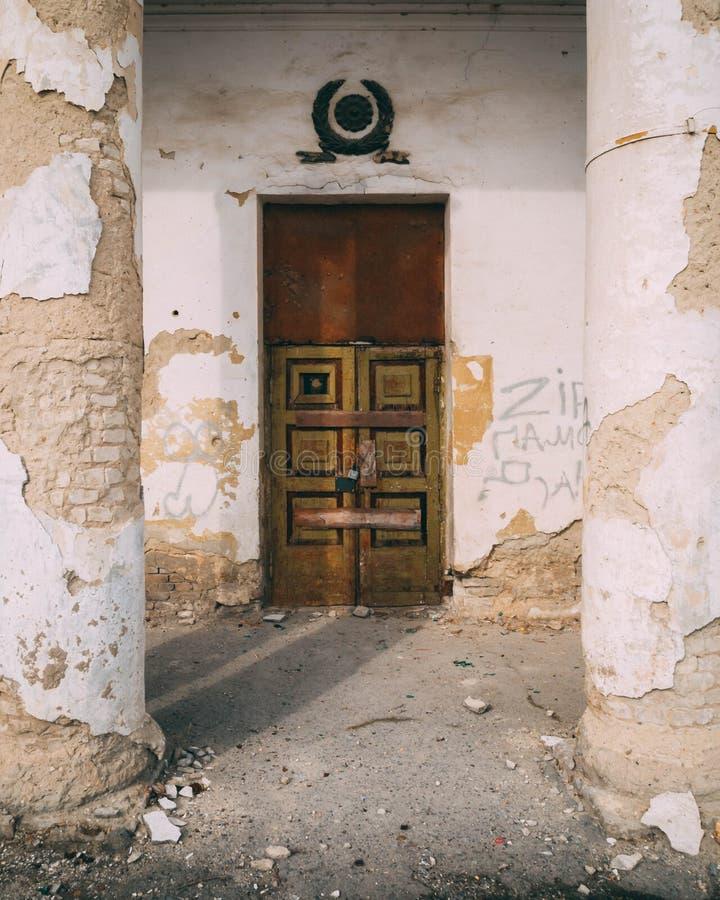 Photo of Brown and Black Wooden Door stock images