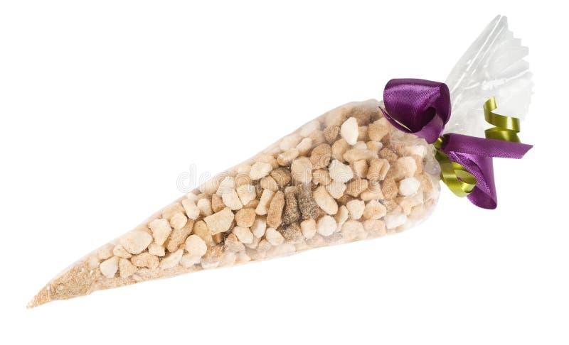 Photo Of Brown Sugar Into Plastic Bag Royalty Free Stock Photos