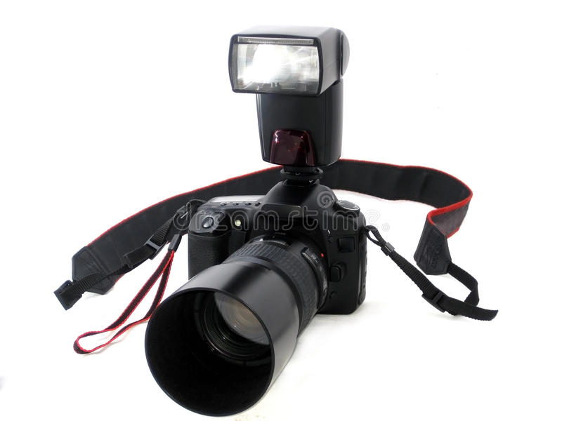 Download Photo camera stock image. Image of isolated, photocam - 15350607
