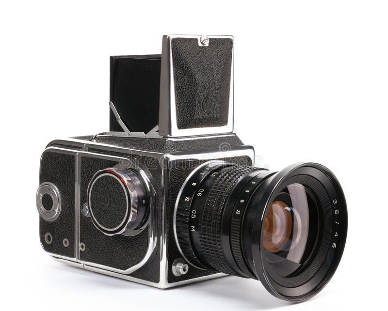 Download Photo camera stock image. Image of antique, history, body - 21366817