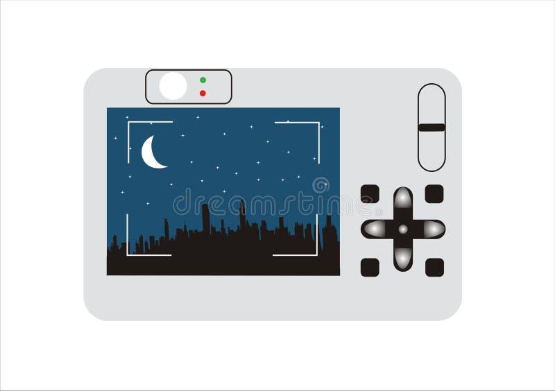 Photo camera stock illustration