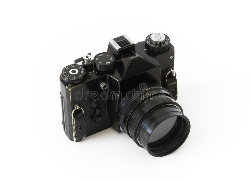 Download Photo camera stock image. Image of photograph, classic - 8506533