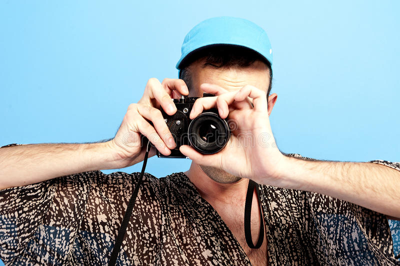 Download Photo Camera Guy Stock Photos - Image: 25656543