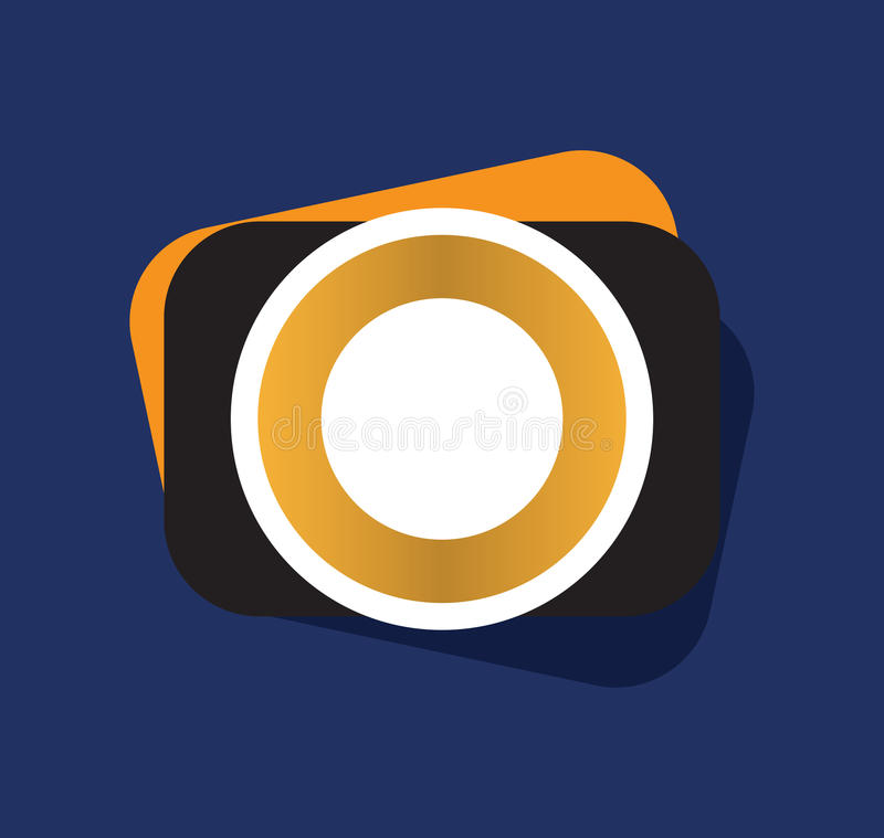 Download Photo Camera Icon stock illustration. Image of digital - 83707213