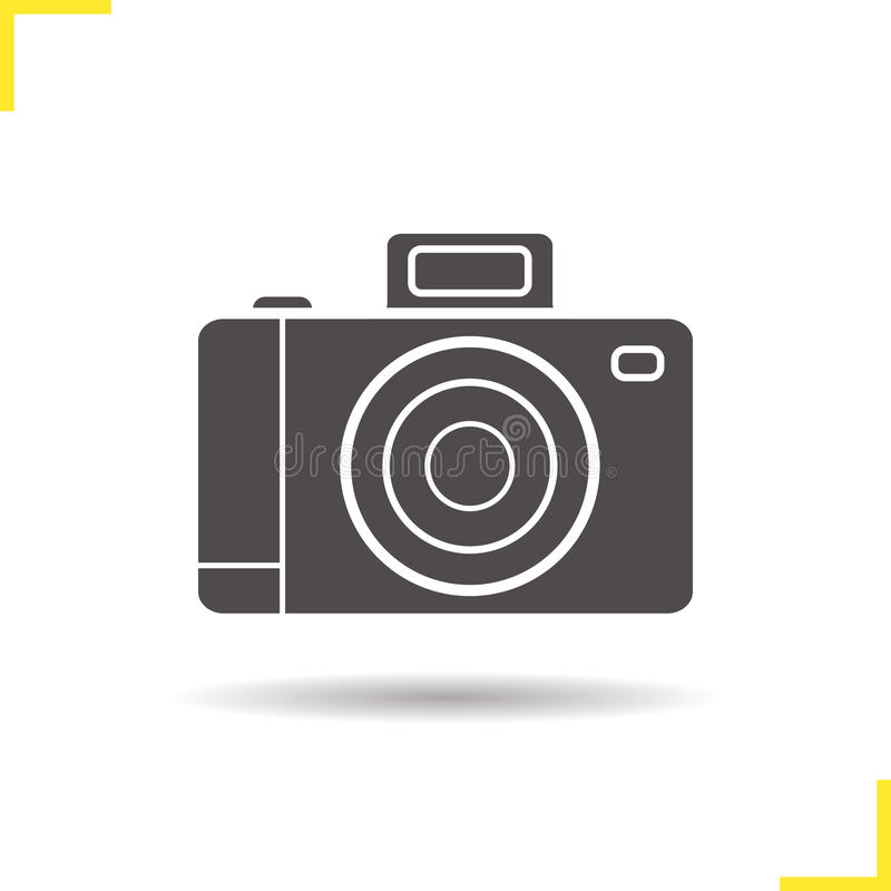 Photo camera icon vector illustration