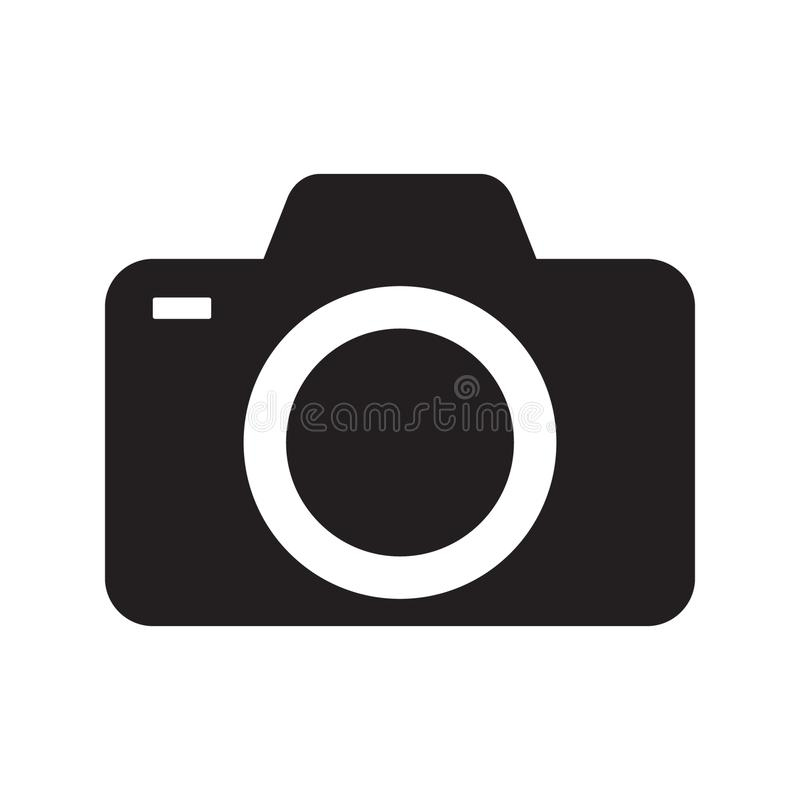 Photo camera icon. ÑŽ Vector illustration isolated on white background vector illustration