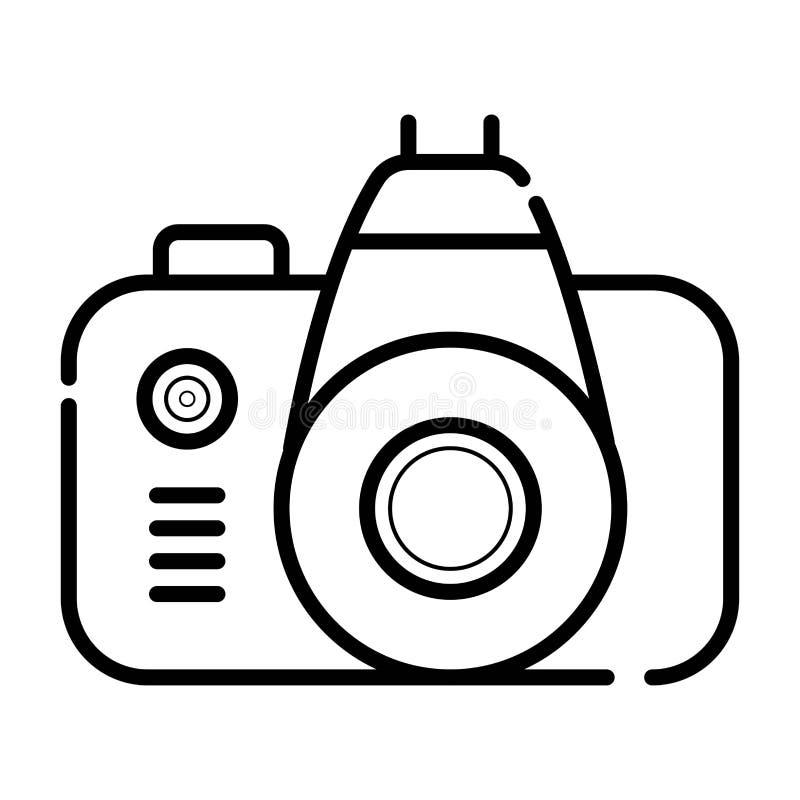 Photo camera icon vector stock illustration