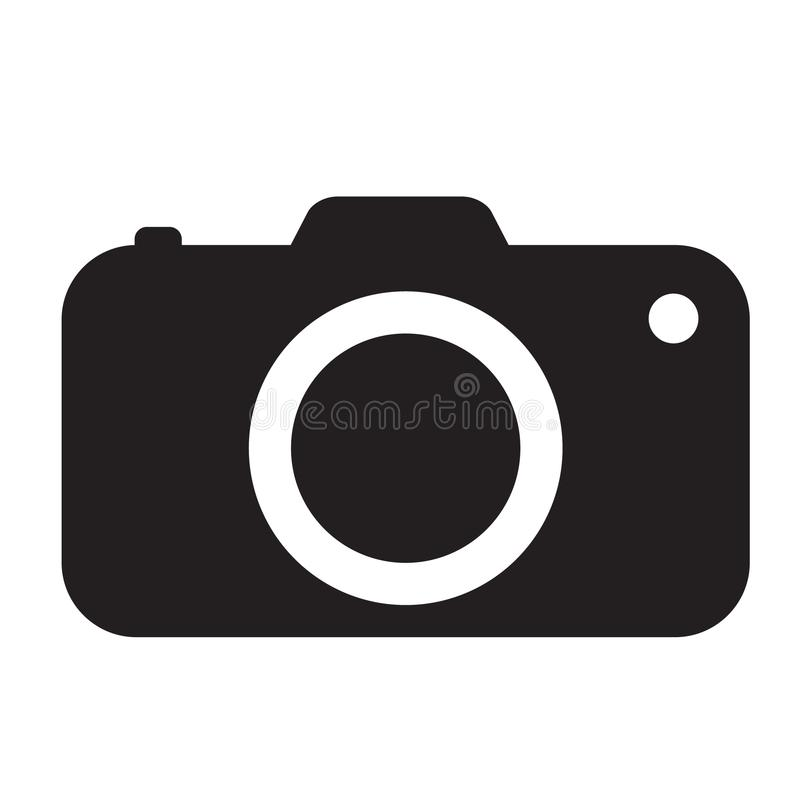 Photo camera icon stock illustration