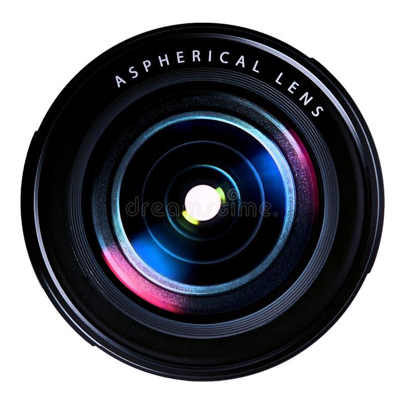 Photo camera lens royalty free stock image