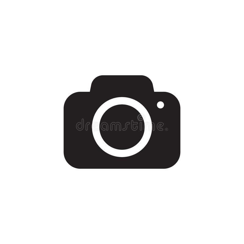 Photo camera vector icon. Vector illustration isolated stock illustration