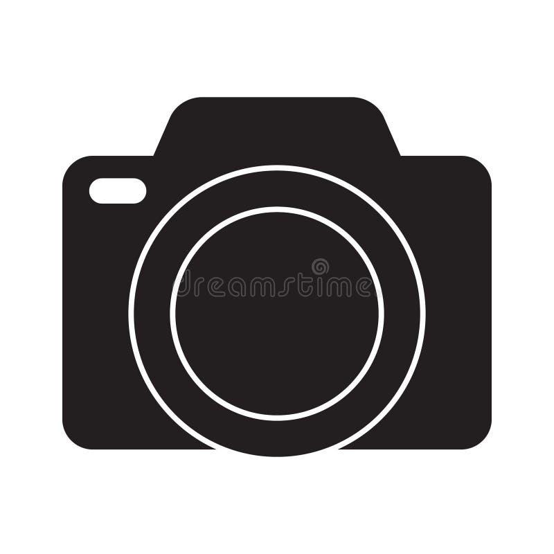 Photo camera vector icon vector illustration
