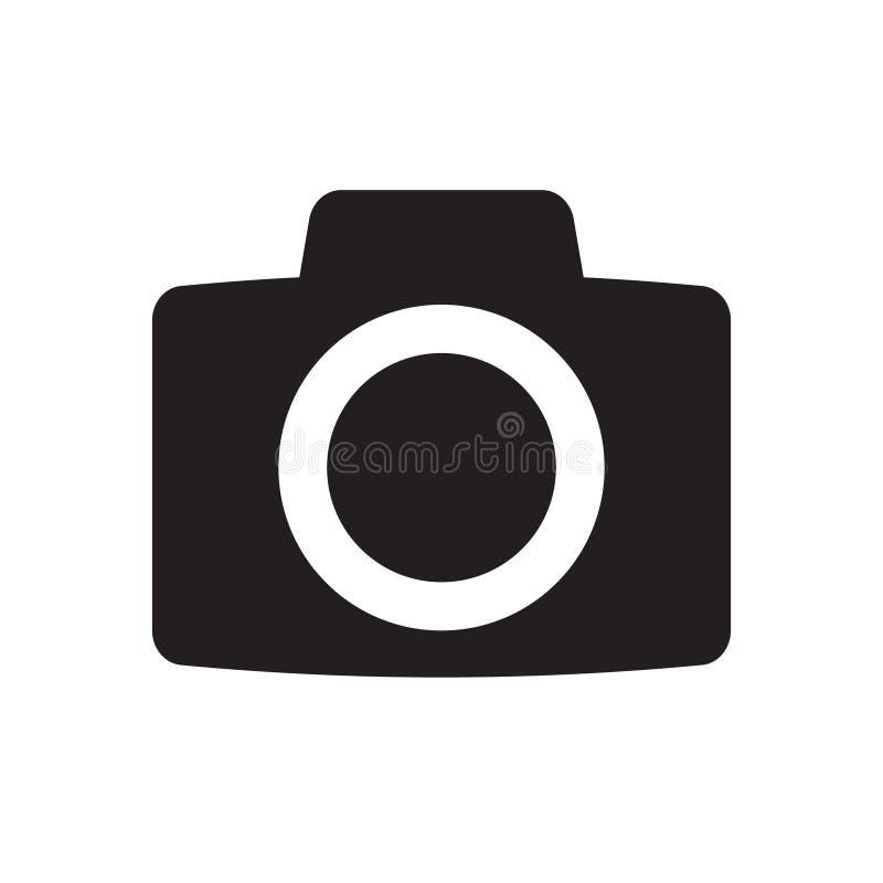 Photo camera vector icon stock illustration