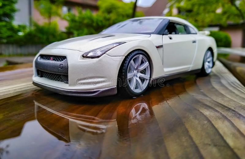 Photo of car toy royalty free stock image