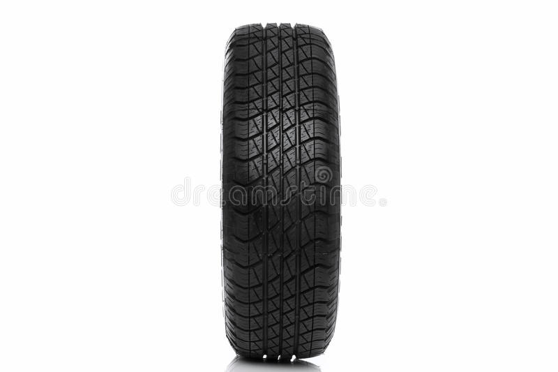 Download Photo Of A Car Tyre (tire) Wheel Isolated On White Stock Photo - Image: 17021598