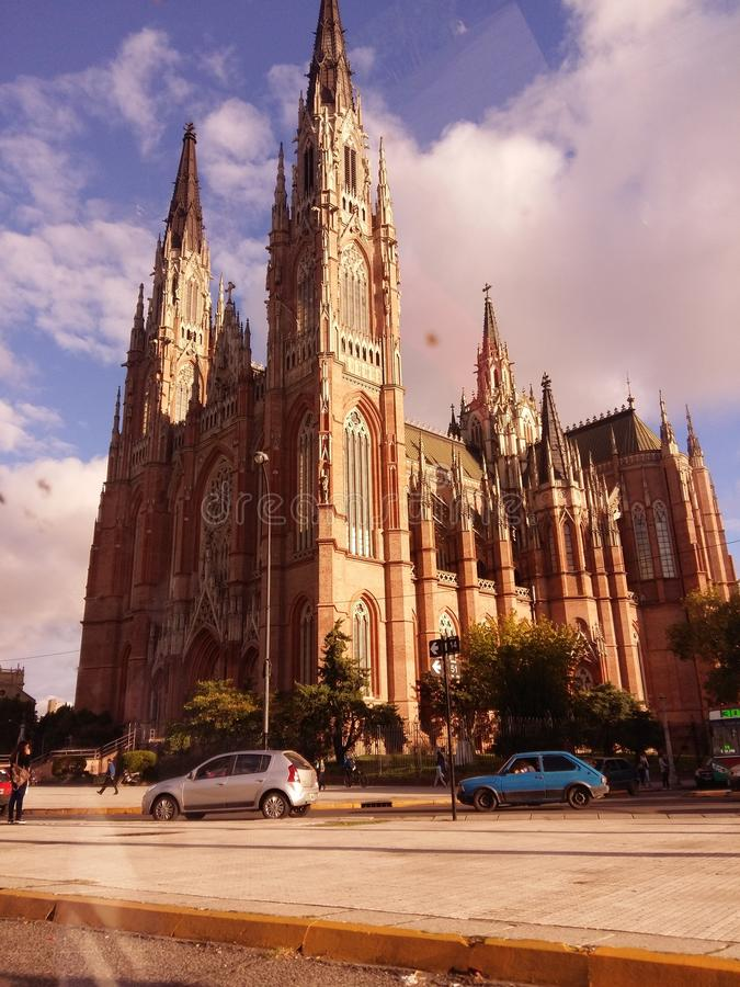 Photo Cielo de Catedral Argentine image stock