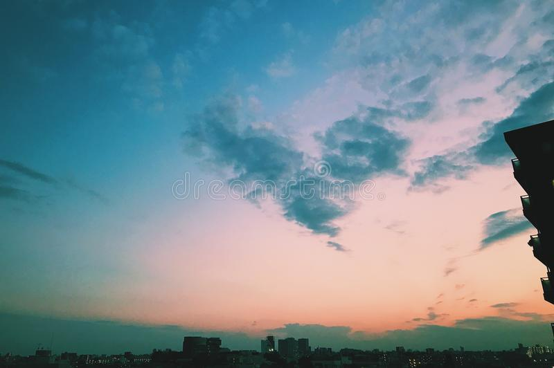 Photo of Cirrus Clouds stock images