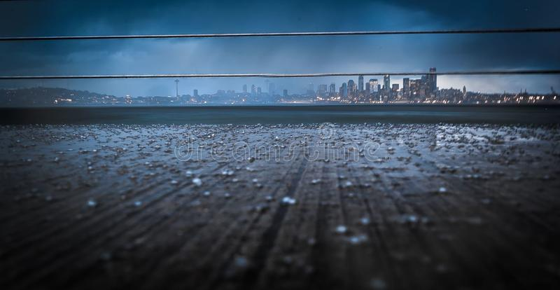 Photo of City Under Cloudy Sky royalty free stock images
