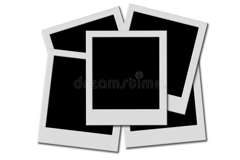 Photo collage stock illustration