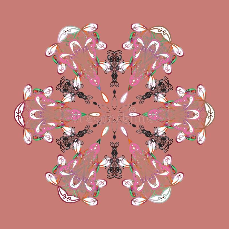 Photo colorée par résumé illustration libre de droits