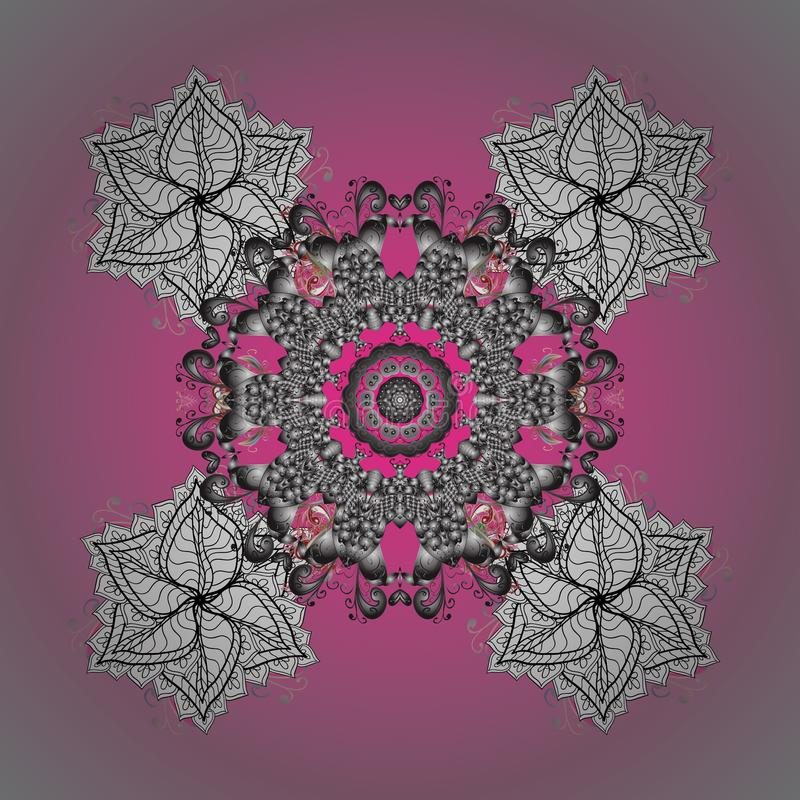 Photo colorée par résumé illustration de vecteur