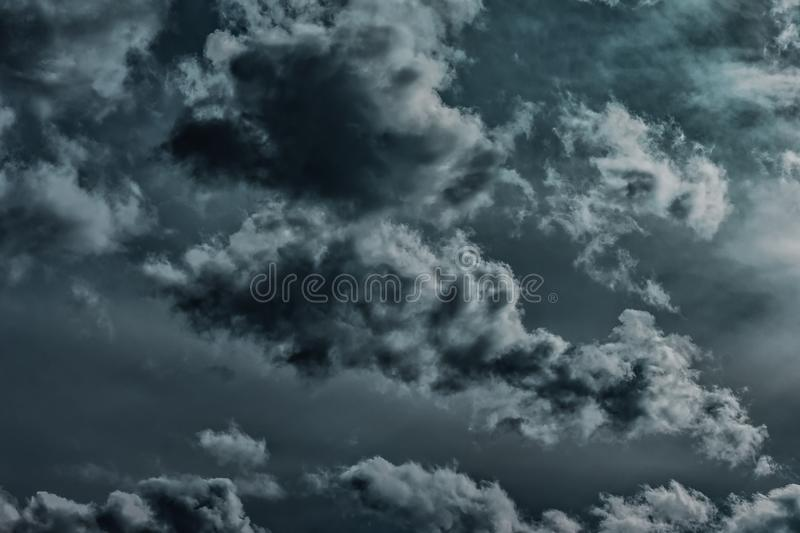 Photo of Columbus Clouds stock image