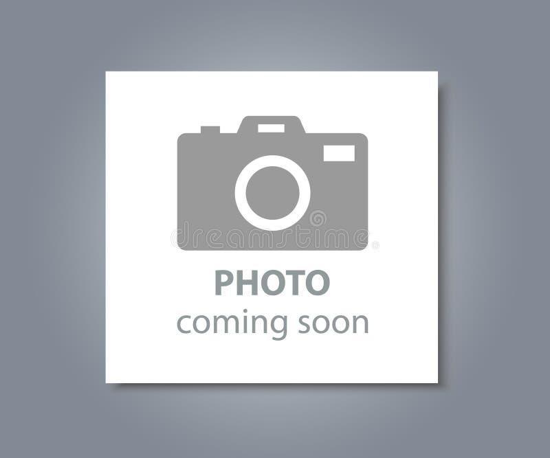 Photo coming soon stock illustration