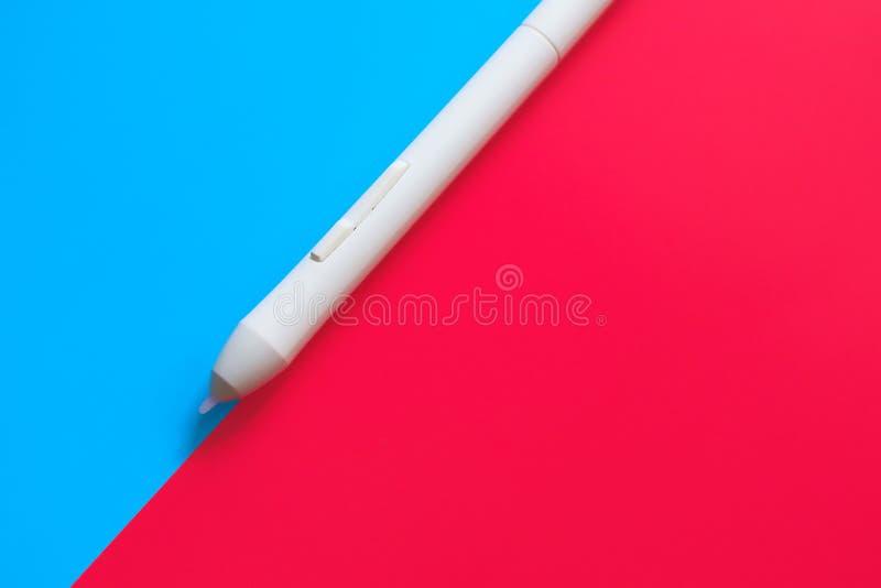 Photo conceptuelle pour la conception Stylo de tablette graphique photos libres de droits