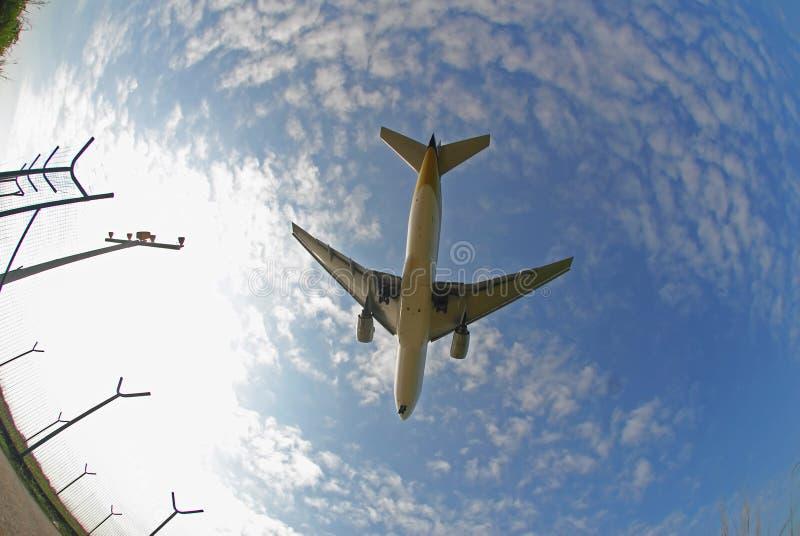 Photo courante d'un avion image stock