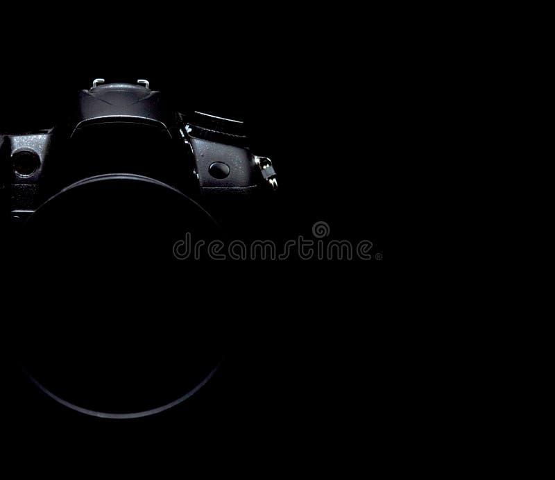 Photo courante discrète/image d'appareil-photo moderne professionnel de DSLR photographie stock