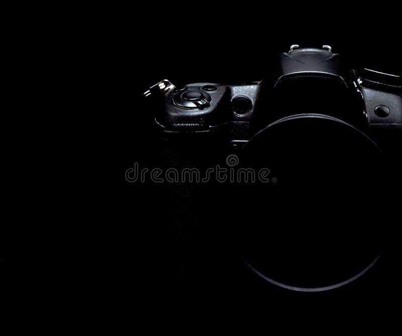 Photo courante discrète/image d'appareil-photo moderne professionnel de DSLR image stock
