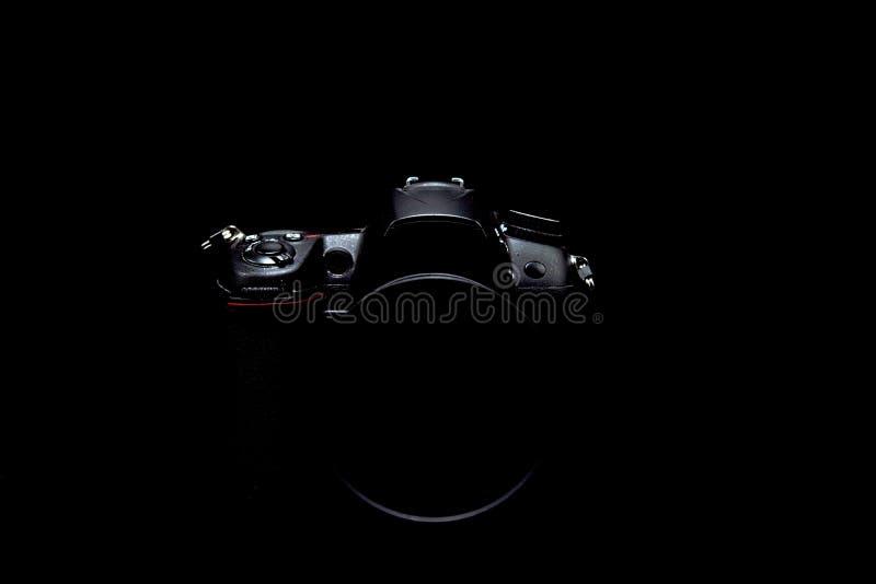 Photo courante discrète/image d'appareil-photo moderne professionnel de DSLR photo stock
