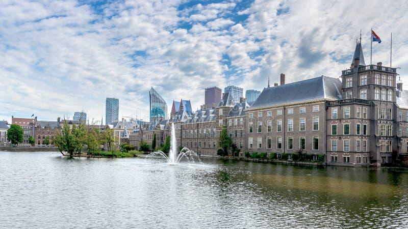 Photo courante - le Parlement néerlandais, Den Haag, Pays-Bas images libres de droits