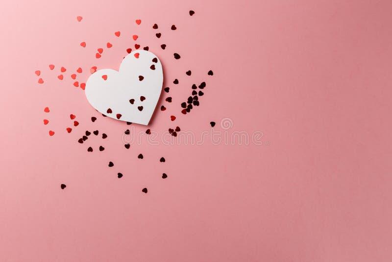 Photo cr?atrice Carte postale de jour du `s de Valentine Fond de jour du ` s de Valentine photo stock
