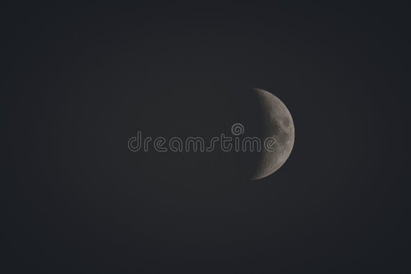 Photo of Crescent Moon royalty free stock photos