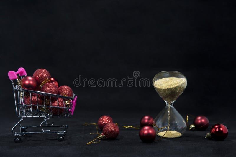 Photo d'abrégé sur Black Friday Joyeux Noël heureux Photo abstraite de achat de temps photo libre de droits
