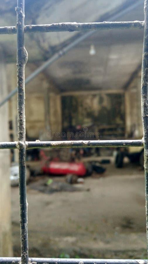 Photo d'art de fenêtre au Sri Lanka image stock