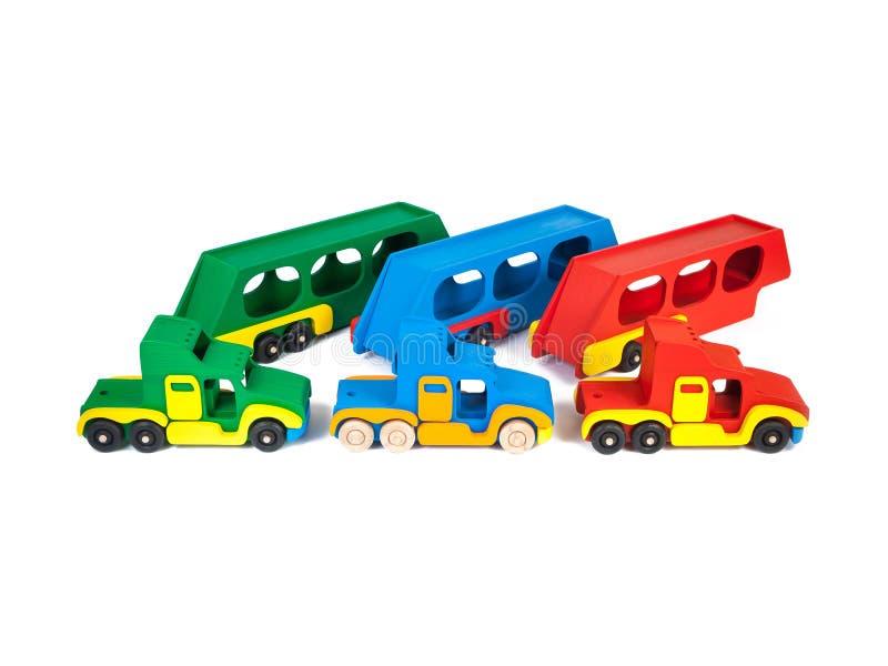 Photo d'un camion en bois photo stock