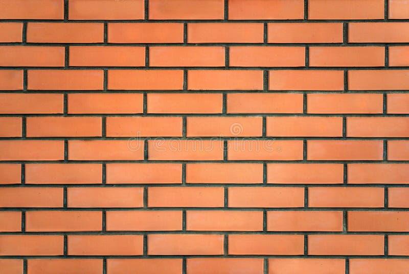 Photo d'un mur de briques rouge images libres de droits