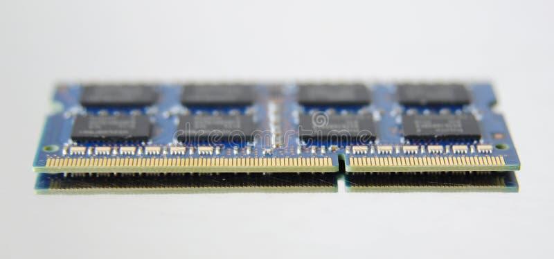 Photo of DDR RAM memory module royalty free stock image