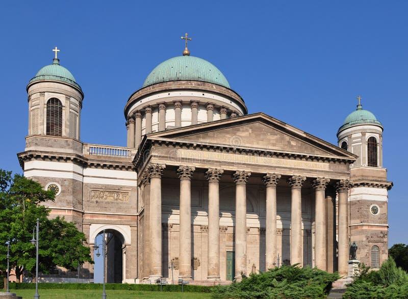 Photo de basilique Esztergom photographie stock