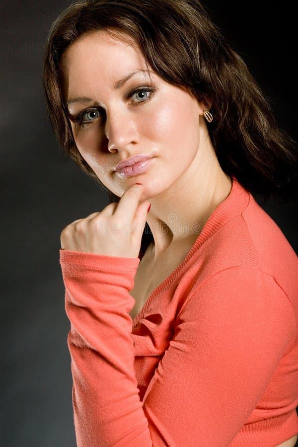 Photo de belles filles images stock