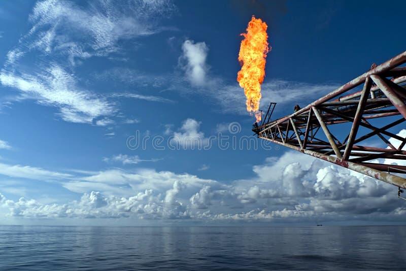 Boom de fusée photographie stock libre de droits