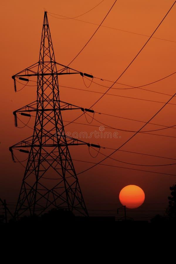 Photo de coucher du soleil et photographie de nature image libre de droits